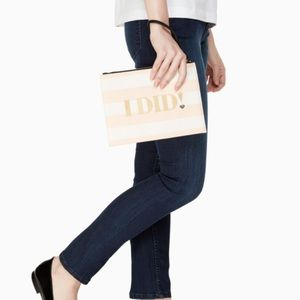 Kate Spade I DO I DID POUCH